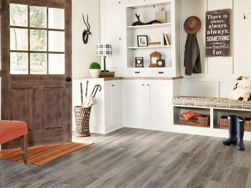 Mimic high-cost flooring with luxury vinyl tile